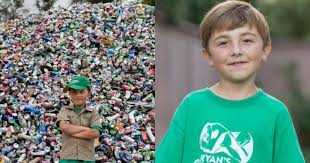 This 7-Year-Old Entrepreneur Built A Company Out Of TRASH, Literally!